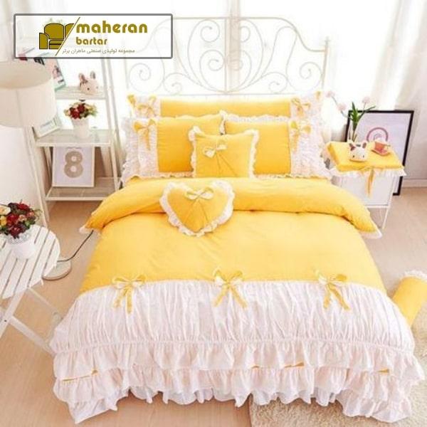 ایده اتاق خواب دخترانه توسی زرد ۲۰۲۱