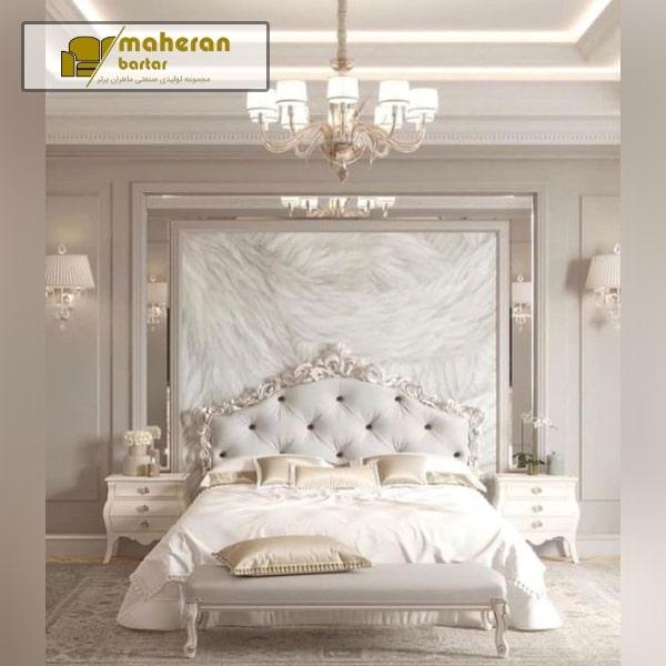 نمونه دکوراسیون مدرن اتاقخواب عروس