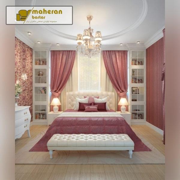 عکس دیزاین اتاق خواب دخترونه شیک