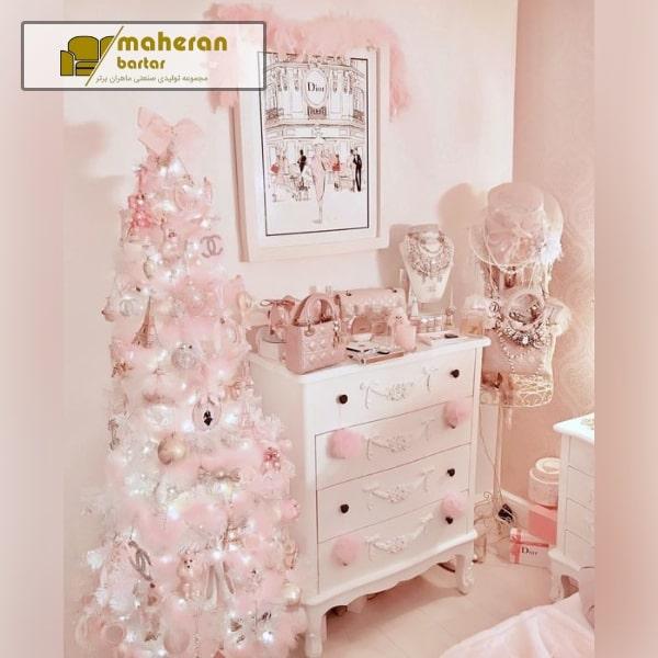 نمونه عکس اتاق خواب دخترونه شیک و لاکچری